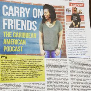 Kerry-Ann Reid Brown featured in Caribbean News Weekly