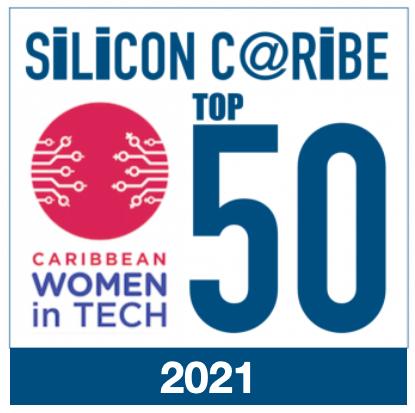 Kerry Ann Reid BRown is on SilconeCaribes 2021 top 50 women in tech